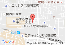 パストラール尼崎の地図