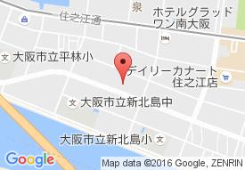 ケアハウス豊泉家住之江の地図