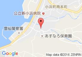 ハートピアー雲仙小浜の地図