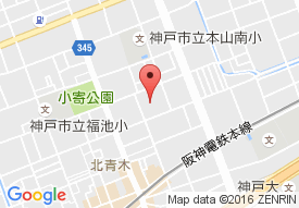 神鋼ケアライフ株式会社 エレガーノ甲南の地図