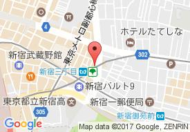 チャームスイート新宿戸山の地図