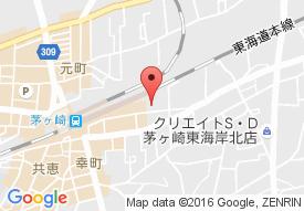 ケアヴィレッジ湘南茅ヶ崎の地図