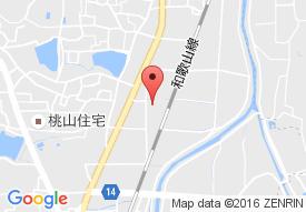 グループホームここから王寺町の地図