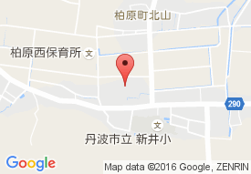 特別養護老人ホーム柏原けやき苑の地図