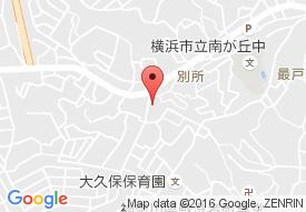 アズハイム横浜上大岡の地図
