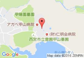 にしのみや苑の地図