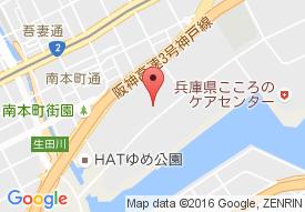 ケアポート神戸の地図