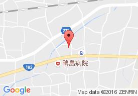 グループホームえくせれんと鴨島の地図