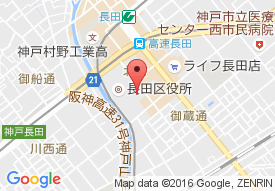 長田ケアホームの地図