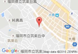 介護付有料老人ホームオーベル筑紫丘の地図