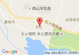 特別養護老人ホームゆりの里七ヶ宿の地図