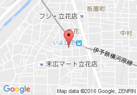 松山協和病院の地図