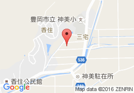特別養護老人ホームとよおかの里の地図