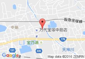 特別養護老人ホーム 宝塚あいわ苑の地図