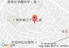 アリスタージュ経堂の地図