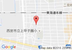 シルバーロイヤル甲子園口の地図