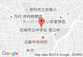 サンシティパレス塚口の地図