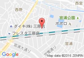 三原市医師会病院の地図