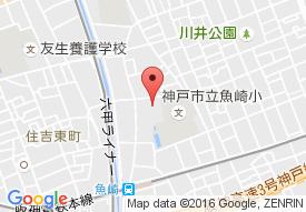 特別養護老人ホーム サンライフ魚崎の地図