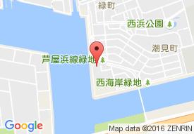 特別養護老人ホーム あしや喜楽苑の地図