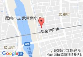 武庫之荘ホールの地図