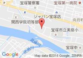 コミュニティ宝塚の地図