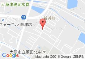 ハートランド瀬田の地図