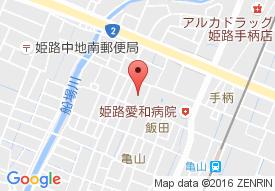 特別養護老人ホーム ライフビラ姫路の地図
