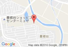 家族の家ひまわり宇都宮豊郷台の地図