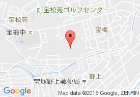 サンシティ宝塚の地図