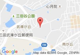 医療法人山西会 宝塚三田病院の地図