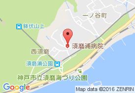 須磨浦病院の地図