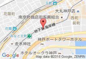 神戸博愛病院の地図