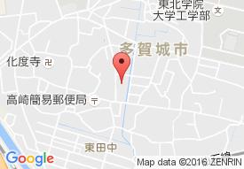デイサービスセンター健康倶楽部多賀城の地図