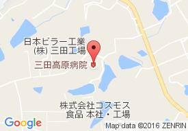 医療法人敬愛会三田高原病院の地図