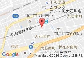 田所病院の地図