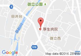 医療法人社団 綱島会 厚生病院の地図