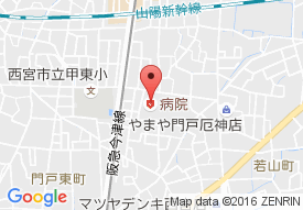 熊野病院の地図