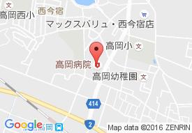 医療法人 恵風会 高岡病院の地図