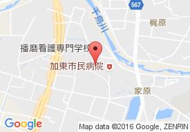 加東市介護老人保健施設 ケアホームかとうの地図
