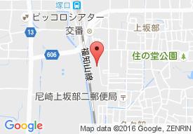尼崎老人保健施設ブルーベリーの地図