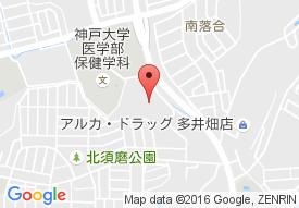 有料老人ホーム エリーネス須磨の地図