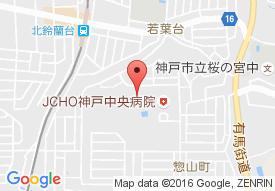 神戸社会保険介護老人保健施設の地図