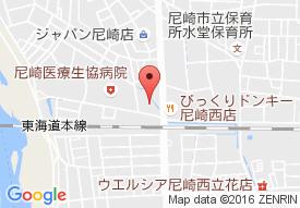 尼崎医療生協介護老人保健施設ひだまりの里の地図