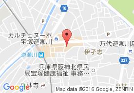 プラチナ・シニアホーム宝塚逆瀬川の地図