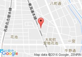 デイサービスセンターなご家 一宮サービスの地図