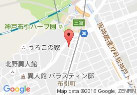 パーマリィ・イン新神戸の地図