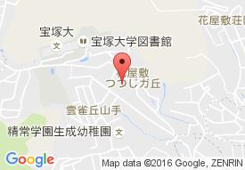 トラストガーデン宝塚(旧名:サンビナス宝塚)の地図