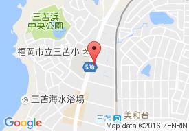 早稲田イーライフ三苫の地図