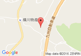 横川緑風園デイサービスセンターの地図